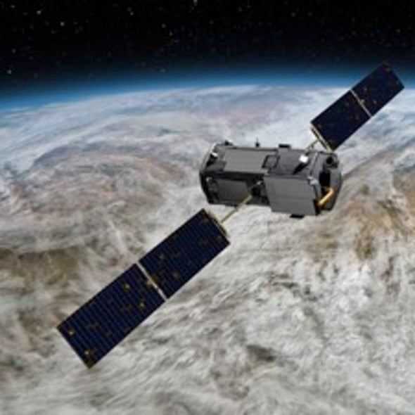 With One Space Observatory Down, NASA Uses Another to Map CO2