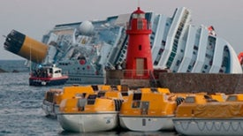 Crippled Cruise Ship, <i>Costa Concordia,</i> Haunts Italians of Giglio