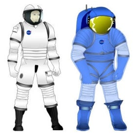 NASA new space suits