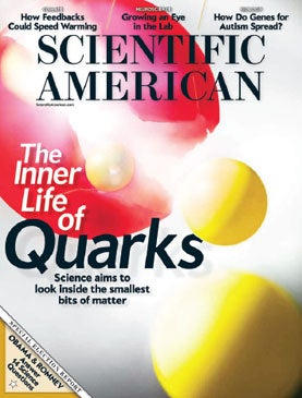 Scientific American, Inner Life of Quarks