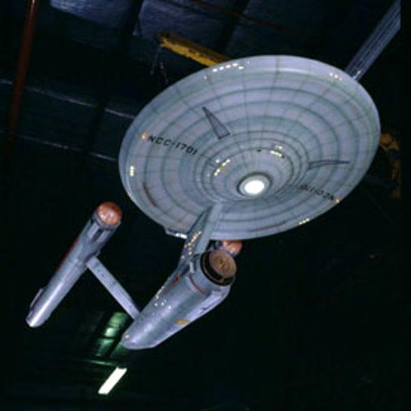 Engineer Petitions White House for Real-Life Starship <i>Enterprise</i>