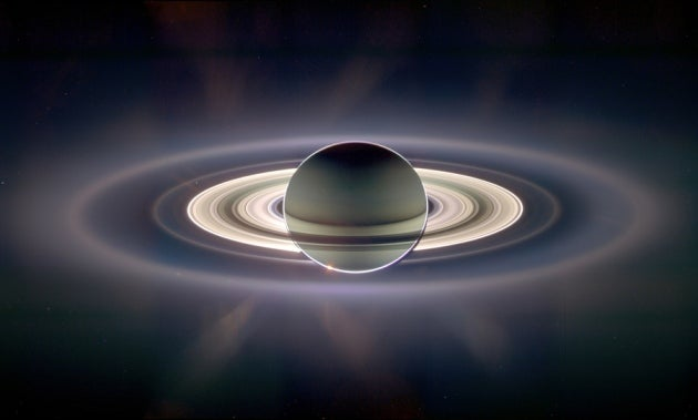 Dust Reveals Ancient Origin for Saturn's Rings