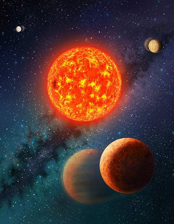 Astronomers Weigh Mars-Sized Exoplanet