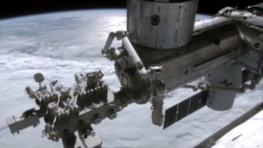 Astronauts Evacuate U.S. Side of Space Station