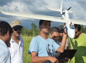 Drones Bring Fight and Flight to Battle against Poachers