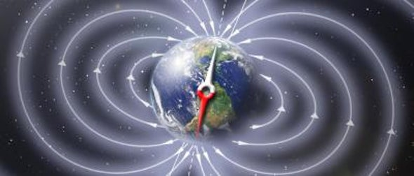Earth's Magnetic Field Initiated a Pole Flip Many Millennia before the Switch