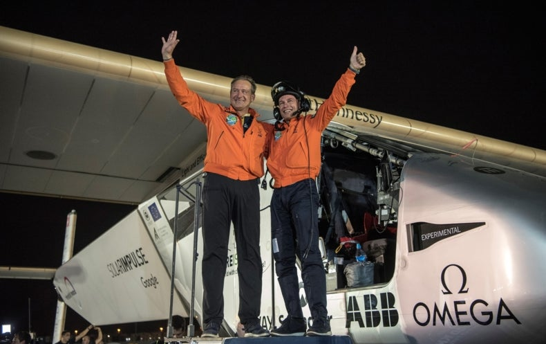 Solar Plane Circles Globe in First for Clean Energy