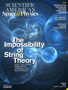 Scientific American Space & Physics, Volume 1, Issue 4