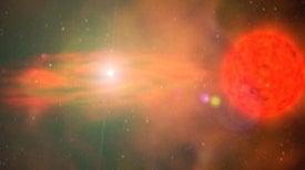 Red Giants and White Dwarfs Make Explosive Stellar Pairings