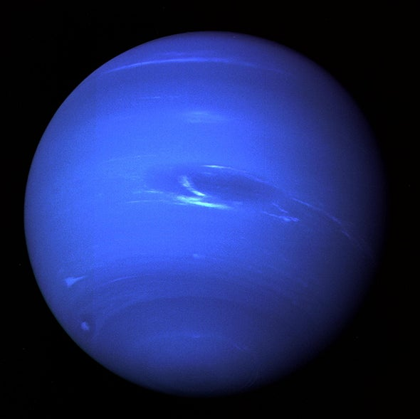 Neptune's Strange Magnetic Field Stretches Arms in New Model [Video]