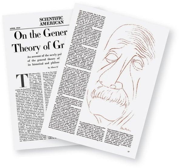 <em>Scientific American</em> Editorial and Einstein