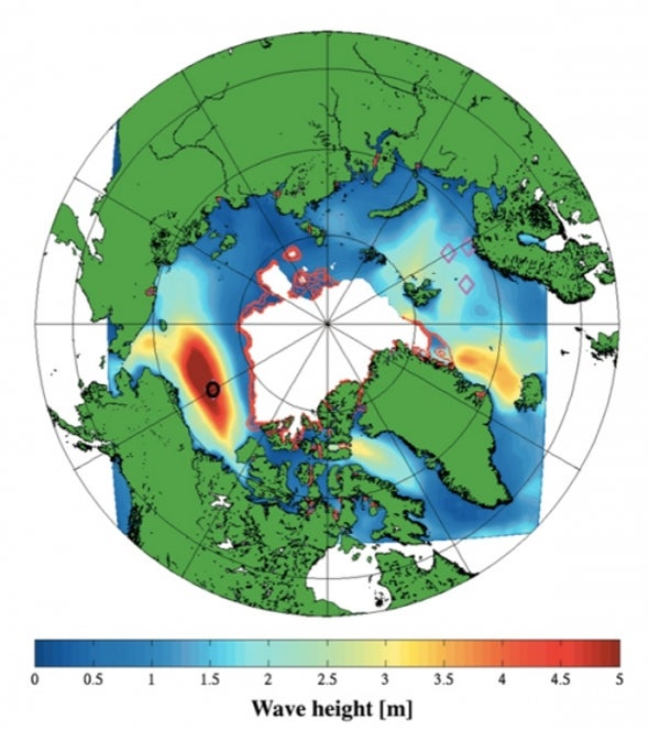 Swelling Waves Could Hasten Demise of Arctic Sea Ice