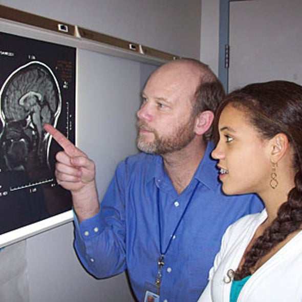 Self-Experimenters: Daughter of MRI Researcher Offered Her Brain for Virtual Dissection