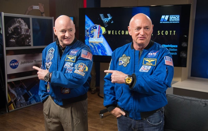 """NASA """"Twins Study"""" Shows How Spaceflight Changes Gene Expression"""