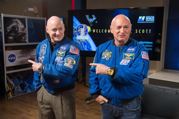 "NASA ""Twins Study"" Shows How Spaceflight Changes Gene Expression"