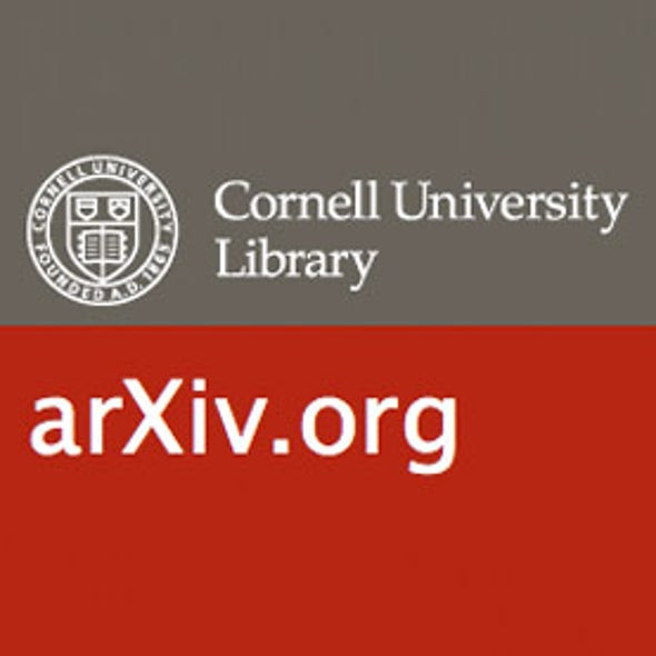 European Research Council Funds ArXiv Online Pre-Print Physics and Math Papers Repository