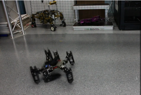 Resilient Robot Recovers Instinctively