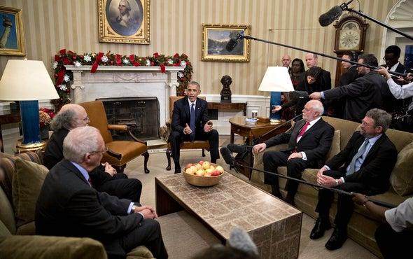 Trump, Breaking with Precedent, Won't Meet with U.S. Nobel Recipients