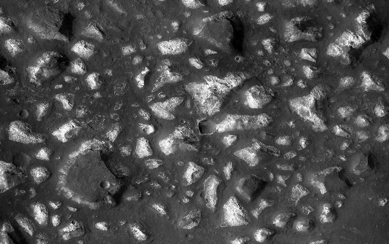 Scientists identify ancient seafloor deposits on Mars's Eridania basin