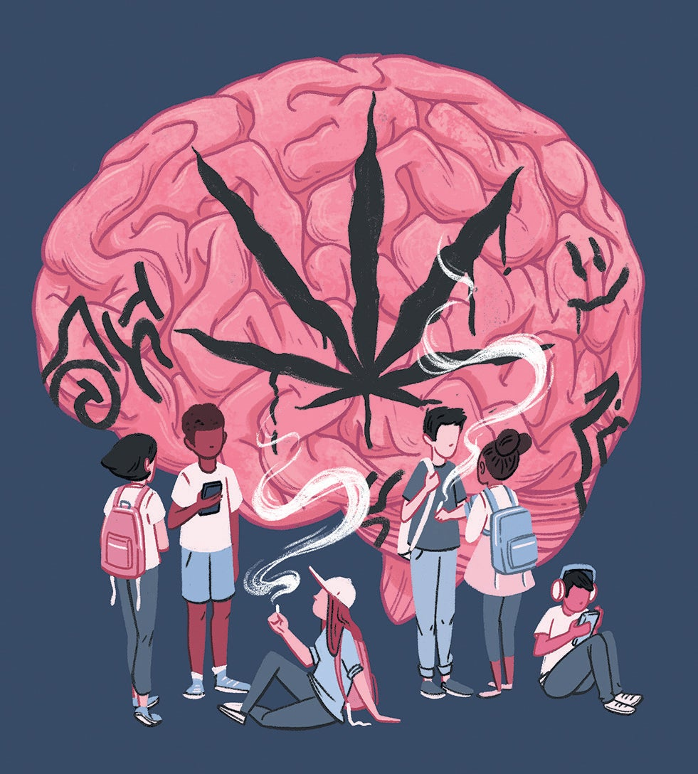Identify three functions that improve as the teenage brain matures
