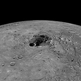 Ice Confirmed on Mercury Despite Planet's Solar Proximity