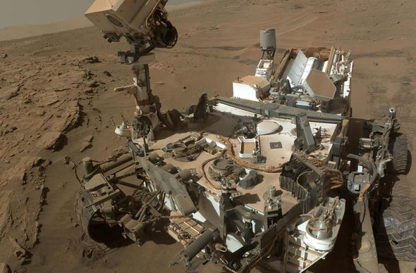 Mystery of Martian Methane Deepens