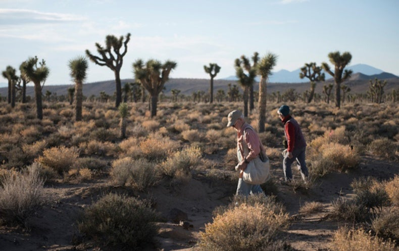 The Ambitious Effort To Document Californias Changing Deserts - Us droup map california change