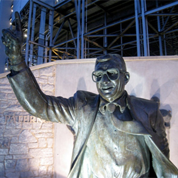 Why Penn State Students Rioted—They Deify Joe Paterno