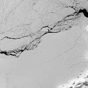 The Larsen C Iceberg Is Already Cracking Up