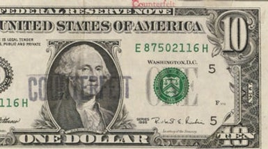 Blow On Money to Tell If It Is Counterfeit