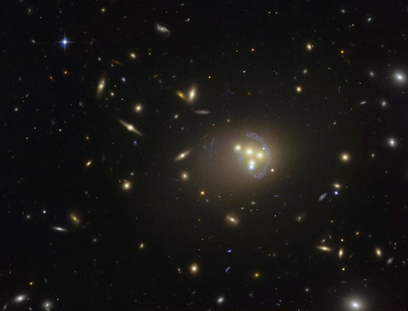 """Dark Matter May Feel a """"Dark Force"""" That the Rest of the Universe Does Not"""