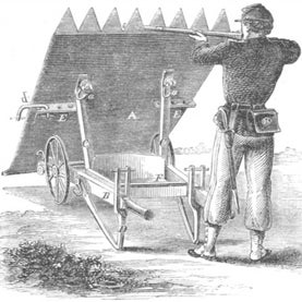 inventions of war in 1863 images from scientific american 39 s archives slide show scientific. Black Bedroom Furniture Sets. Home Design Ideas