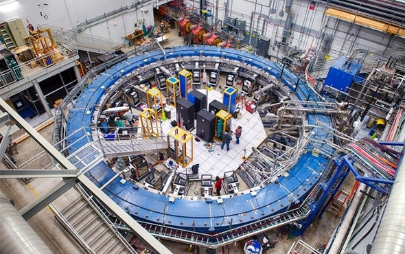 Muons Bring New Physics within Reach