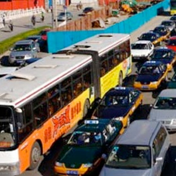 Can Buses Keep Cars Off the Road in China?