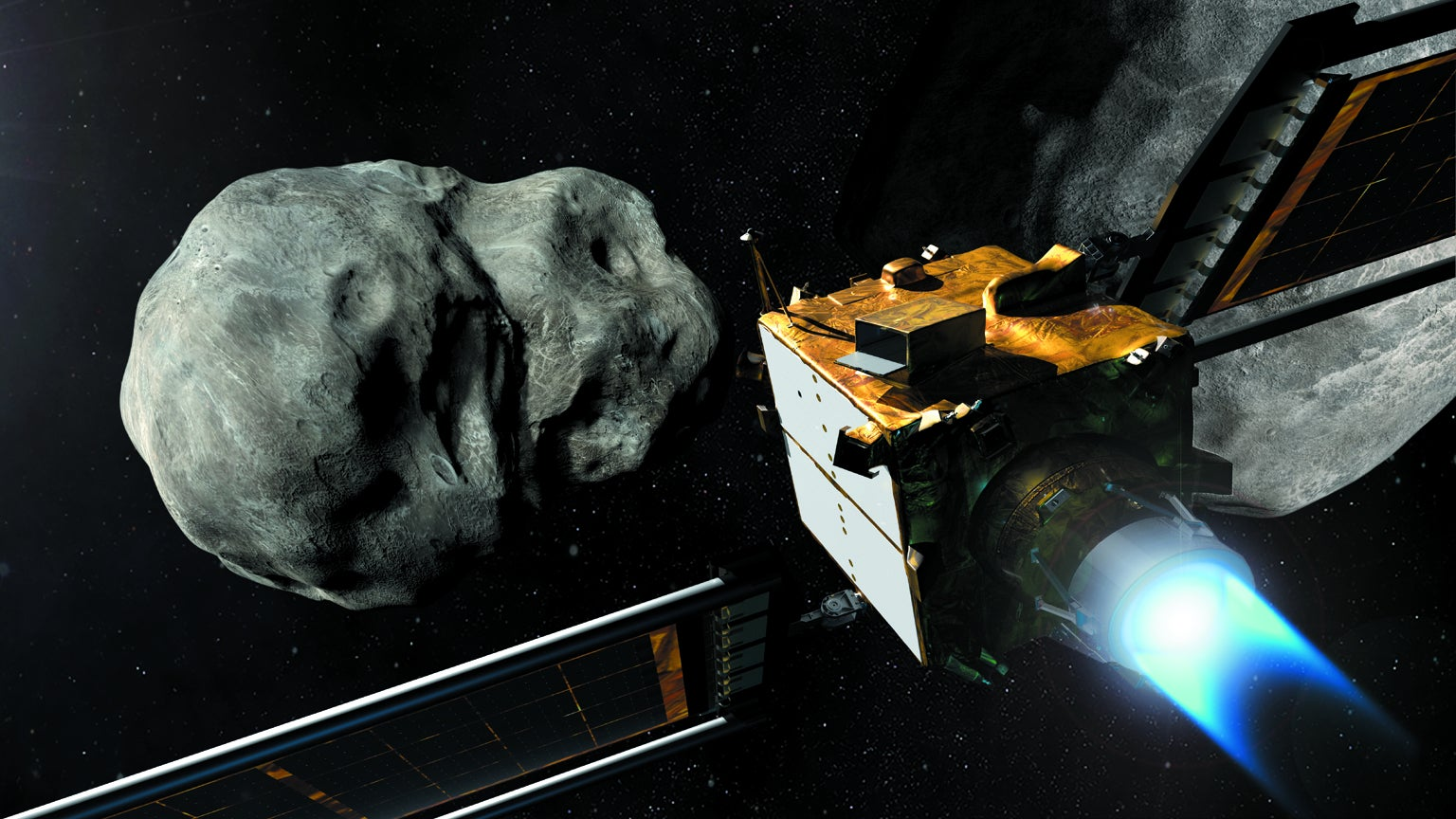 Double Asteroid Redirection Test concept.