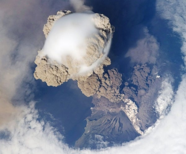 Volcano from Space