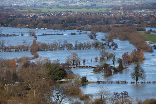 U.K. Probes whether Strange, Wet Winter Is Part of a Changing Climate