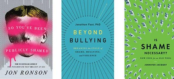 Three Books Explore the Spiral of Shame
