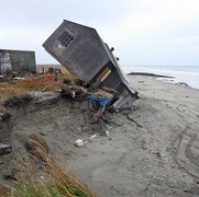 Alaska's Coast Is Vanishing, 1 Storm at a Time