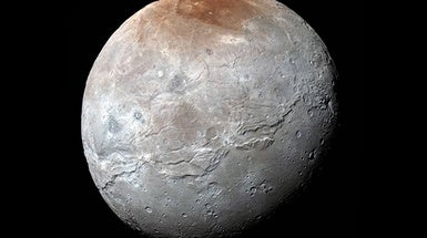 Pluto's Moon Charon Had Its Own, Icy Plate Tectonics