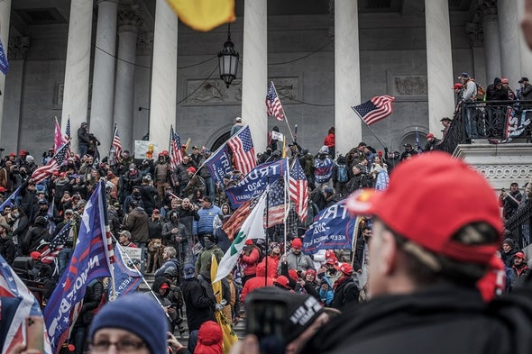 Militia Expert Warns Trump's Capitol Insurrectionists Could Try Again