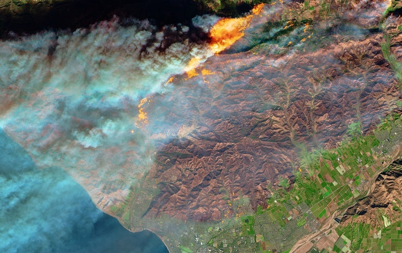 California Wildfire Sets Grim Record