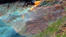 California Wildfire Sets Grim Record