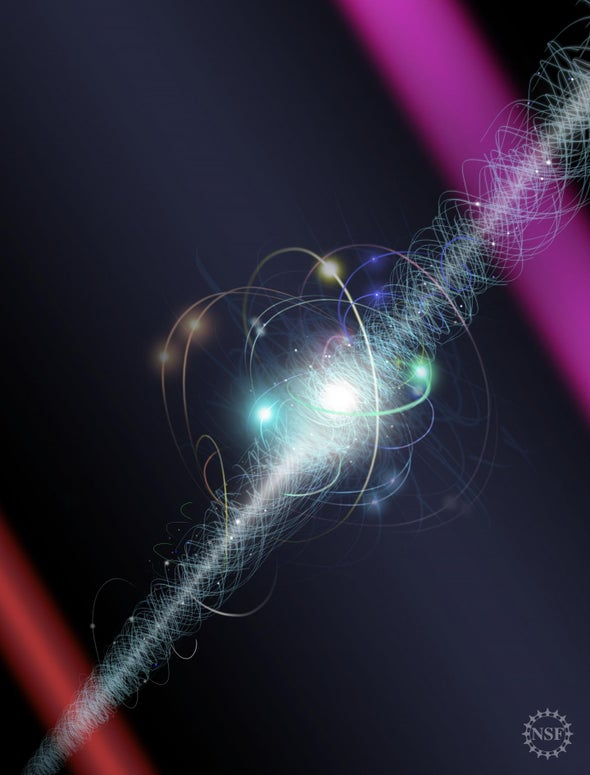 Measurement Shows the Electron's Stubborn Roundness