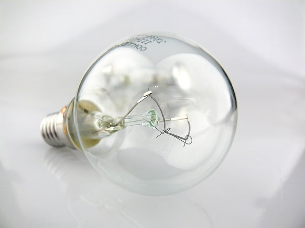 Goodbye and Good Riddance to Inefficient Incandescent Lightbulbs
