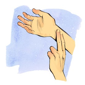And what does the expression mean Keep your hand on the pulse For you personally, what