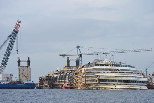 Setback Averted in <i>Costa Concordia</i> Salvage Close Call