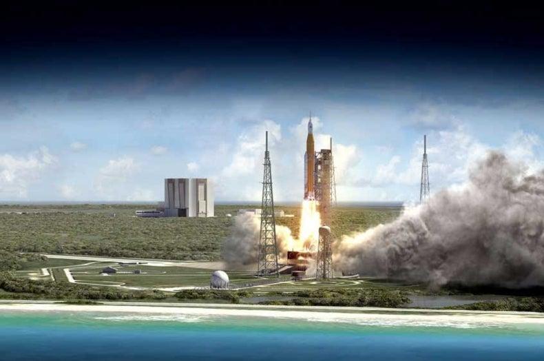 NASA Picks Tiny Satellites to Ride on Giant Rocket's First Flight