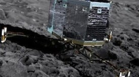 Comet Craft Approaches Its Target