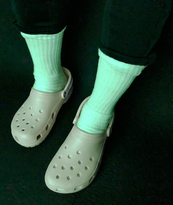 A Pair of Crocs to Match the Dress